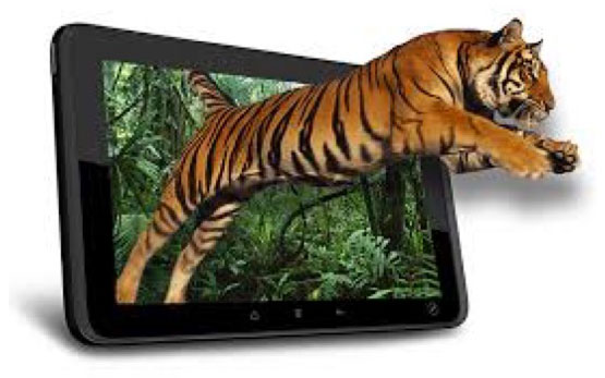 3D Gaming Tablet